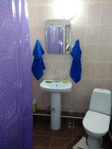 Ванная комната в Апартаменты на Крымской 81