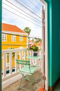 Uma varanda ou terraço em Bed & Bike Curacao