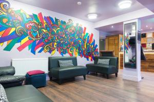 The lobby or reception area at The Times Hostel - Camden Place