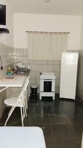 A cozinha ou cozinha compacta de Pousada Recanto das Tartarugas