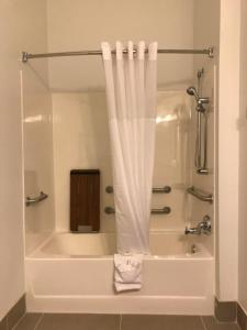 A bathroom at Country Inn & Suites by Radisson, Fond du Lac, WI