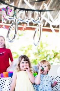 Children staying at Belmont Bayview Park