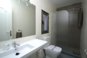 Een badkamer bij Turbo Club