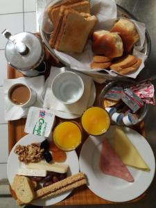 Breakfast options available to guests at Semeli Hotel
