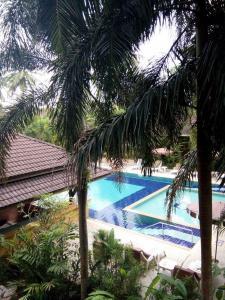 Vaade basseinile majutusasutuses Sudala Beach Resort või selle lähedal