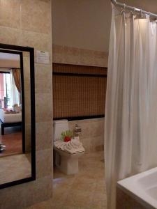 Vannituba majutusasutuses Sudala Beach Resort