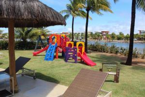 Children's play area at Apartamento Alto Padrão 2 quartos Iberostate Praia do Forte