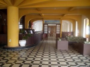 The lobby or reception area at Hotel Icaraí