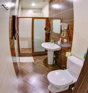 A bathroom at Zvezda Guest House