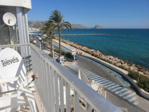 Un balcón o terraza de Los Azules de Altea