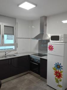 Una cocina o zona de cocina en Ca la Carme