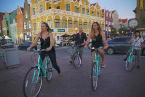 Ciclismo em Bed & Bike Curacao ou nos arredores