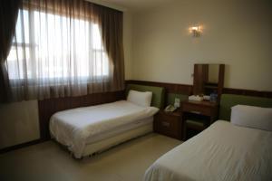 故鄉民宿  房間的床