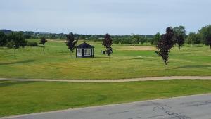 Сад в Golf- og Forretningshotel Vilcon