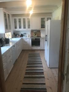 Kjøkken eller kjøkkenkrok på Nicoll-huset