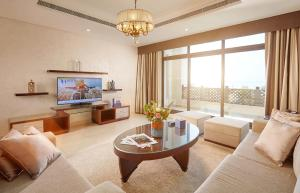 A seating area at Roda Beach Resort