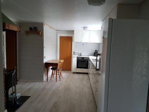 A kitchen or kitchenette at Presthus Gård