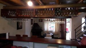The lounge or bar area at Cabaña en valle sagrado (Lamay)
