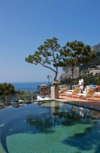 The swimming pool at or near Casa Morgano