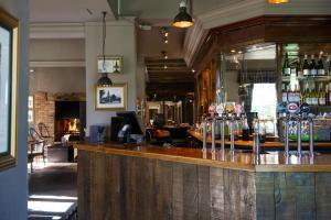 The lounge or bar area at Innkeeper's Lodge Leeds, Calverley