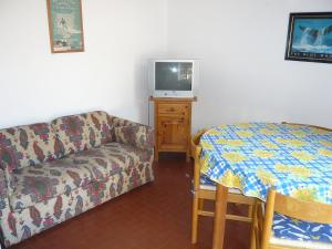 A television and/or entertainment center at Holiday Home Les Palombes-1