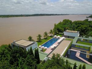 A bird's-eye view of The Bale Phnom Penh Resort