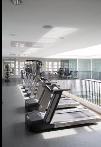 The fitness centre and/or fitness facilities at Apartamento Il Campanario