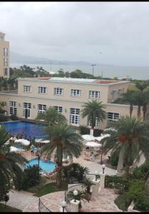 A view of the pool at Apartamento Il Campanario or nearby