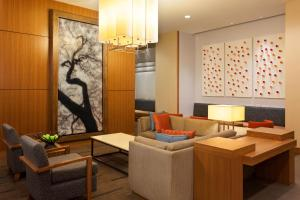 A seating area at Hyatt Place Austin Downtown