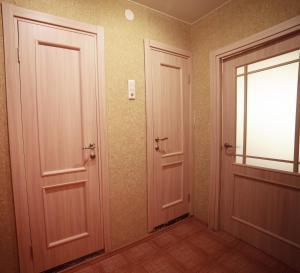 A bathroom at Apartments on Vesny