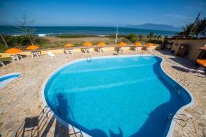 Uma vista da piscina em Hotel Águas Vivas ou nos arredores