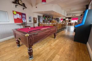 A pool table at The Rodney