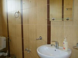 A bathroom at Pokoje Gościnne