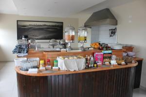 Küche/Küchenzeile in der Unterkunft Prost Hotel Swakopmund Namibia