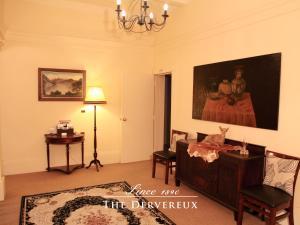 Zona de estar de The Devereux Boutique Hotel