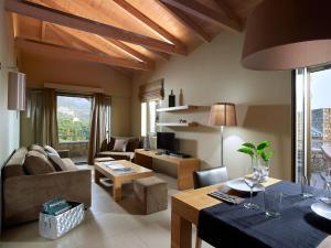 Χώρος καθιστικού στο Anaxo Resort