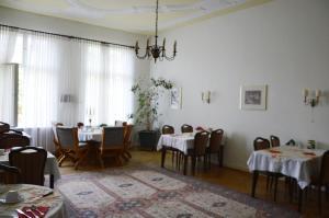Restaurant ou autre lieu de restauration dans l'établissement Hotel Pension Ingeborg