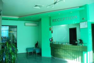 The lobby or reception area at Korona Hotel