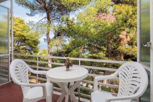 A balcony or terrace at Adriatiq Resort Fontana