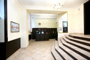 The lobby or reception area at Hotel Katyusha