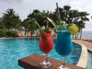 Drinks at Laru Beya Resort