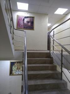 Телевизор и/или развлекательный центр в Апартаменты на Крымской 81