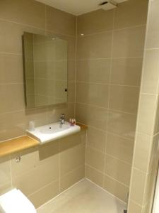 A bathroom at Hebasca