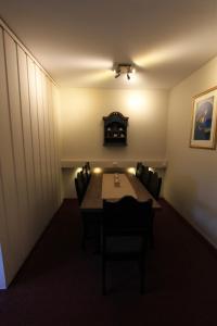 Et sittehjørne på Fanitullen Apartments