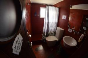 A bathroom at Torre al Sur