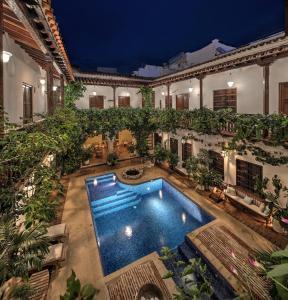 The swimming pool at or near Hotel Boutique Casa Del Arzobispado