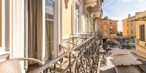 A balcony or terrace at Luxury Apartments Centre of Opatija