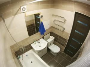 A bathroom at Apartment on Lenina 44