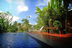 The swimming pool at or near Ubud Green Resort Villas