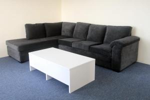 A seating area at Bay Village Unit 20, 47 Shoal Bay Road